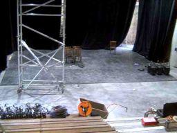 La scène du Théâtre
